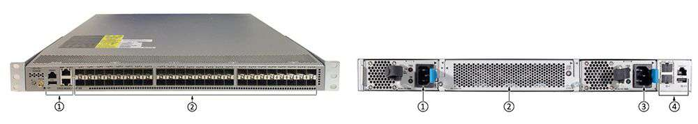 Switch N3K Cisco Nexus 3000 series chính hãng