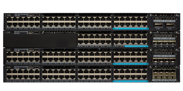 Switch Cisco Catalyst 3650 series 24 ports, 48 ports, PoE chính hãng