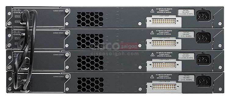 Stacking Cisco WS-C2960X-48LPD-L