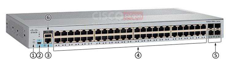 Cisco WS-C2960L-48PS-LL 48 ports PoE