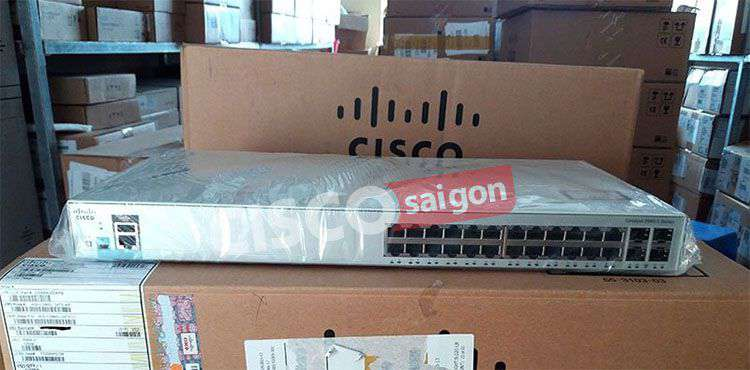 Switch Cisco WS-C2960L-SM-24TS