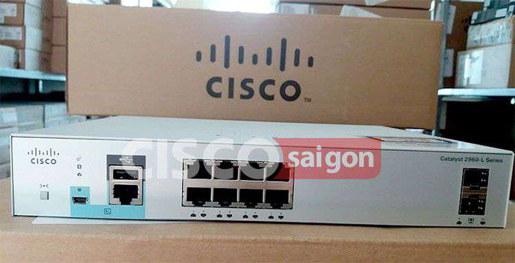 Switch Cisco WS-C2960L-SM-8TS