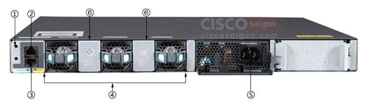 WS-C3650-48TS-E Cisco Catalyst 3650 48 Port Data 4x1G Uplink IP Services