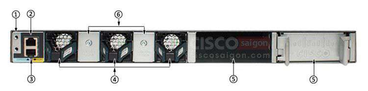 WS-C3650-48TS-S Cisco 3650 48 port 10/100/1000 Layer 3, 4 port 1G SFP uplinks IP Base