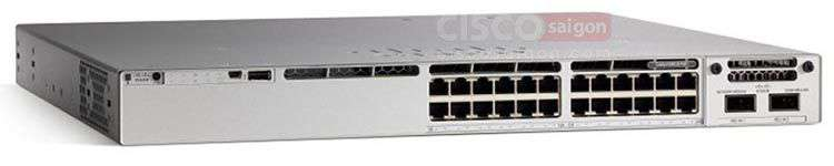 Core Switch Cisco C9300-24P-A 24 port PoE+