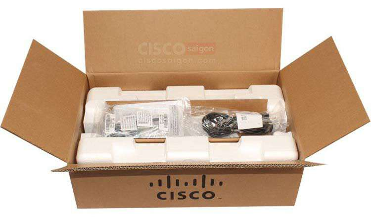 Mở hộp Switch Cisco WS-C2960+48TC-S