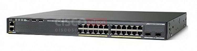 Switch Cisco WS-C2960XR-24TS-I