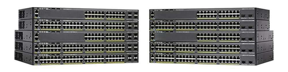 Switch Cisco Catalyst 2960X, 2960XR 24 ports, 48 ports, switch PoE, Lan Lite, Lan Base chính hãng