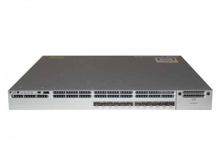 WS-C3850-12XS-S Catalyst 3850 Switch SFP+ Layer 3 12 SFP/SFP+ 1G/10G IP Base