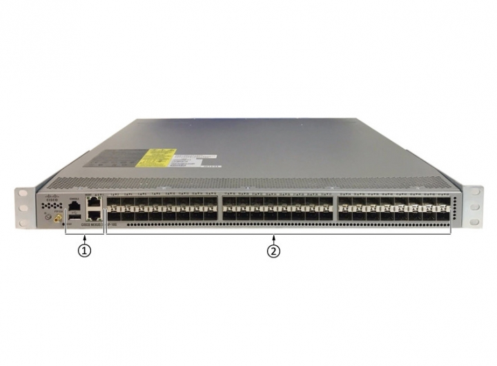 Cisco N3K-C3524P-10GX Switch Layer 2 and layer 3 - 24 x 10G SFP+ active Ethernet ports