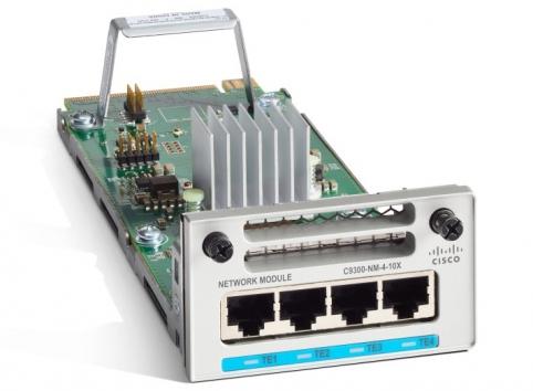 C9300-NM-4G Catalyst 9300 4 x 1GE Network Module