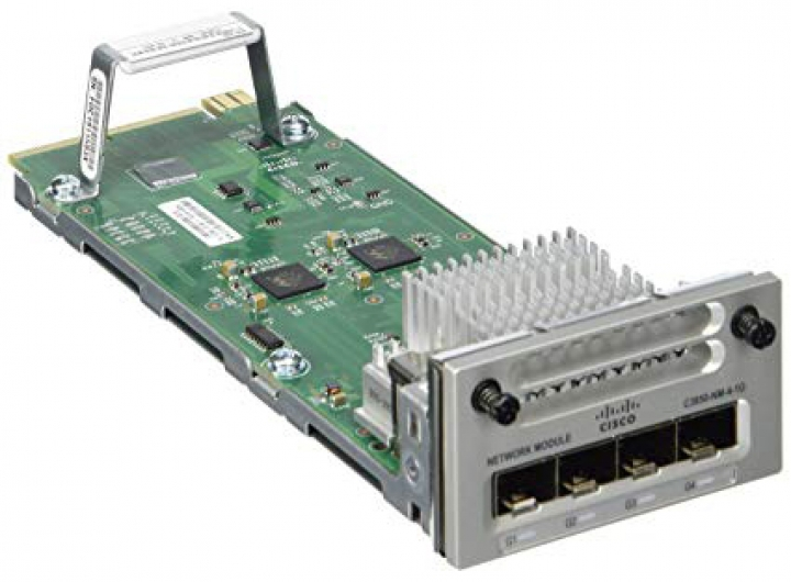 Cisco C3850-NM-4-1G catalyst 3850 với 4 port SFP 1Gb