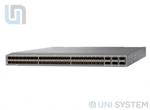 Cisco N9K-C93108TC-EX Nexus 9K,48p 10GT, 6p 100G QSFP28,Spare(No Acc kit,PS&fan)