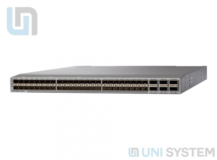 Cisco N9K-C93180YC-EX Nexus 9300 with 48p 10/25G SFP+ and 6p 100G QSFP28