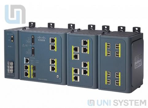 Cisco IE 3000 Switch, 4 10/100 + 2 T/SFP