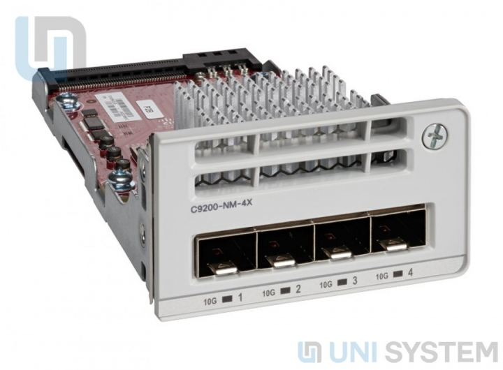 Cisco C9200-NM-4G Catalyst 9200 4 x 1GE Network Module