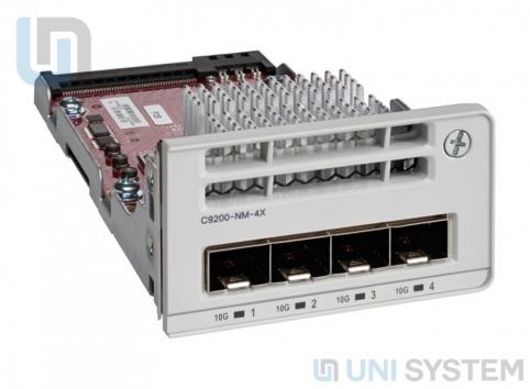 Cisco C9200-NM-4X Catalyst 9200 4 x 10GE Network Module
