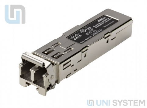 Cisco MGBSX1 Gigabit Ethernet SX Mini-GBIC SFP Transceiver
