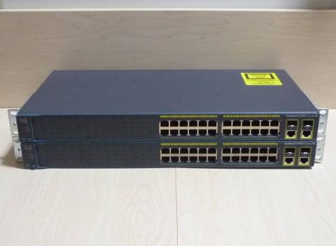 WS-C2960+24TC-S Cisco Catalyst 2960 Plus 24 port 10/100M + 2 T/SFP LAN Lite