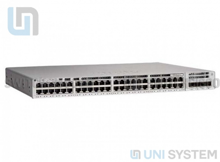 Catalyst 9200 48-port PoE+ Switch. Network  Advantage