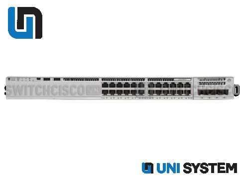 Catalyst C9200-24P-A, 24-port PoE+ Switch. Network Advantage