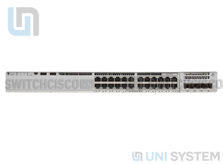 Catalyst C9200-24P-A, 24-port PoE+ Switch. Network Advantage