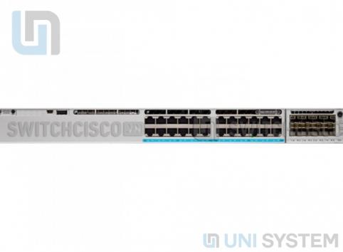 Cisco C9300-24S-E 24 Ports modular uplinks 1G SFP, Network Essentials