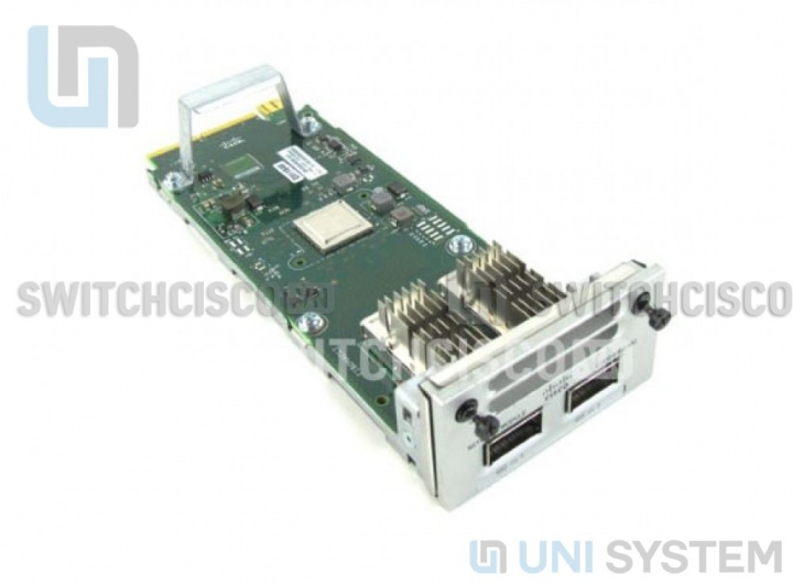 Cisco-C3850-NM-2-40G, Cisco 3850 Series Network Module C3850-NM-2-40G 2 x 40GE Network Module