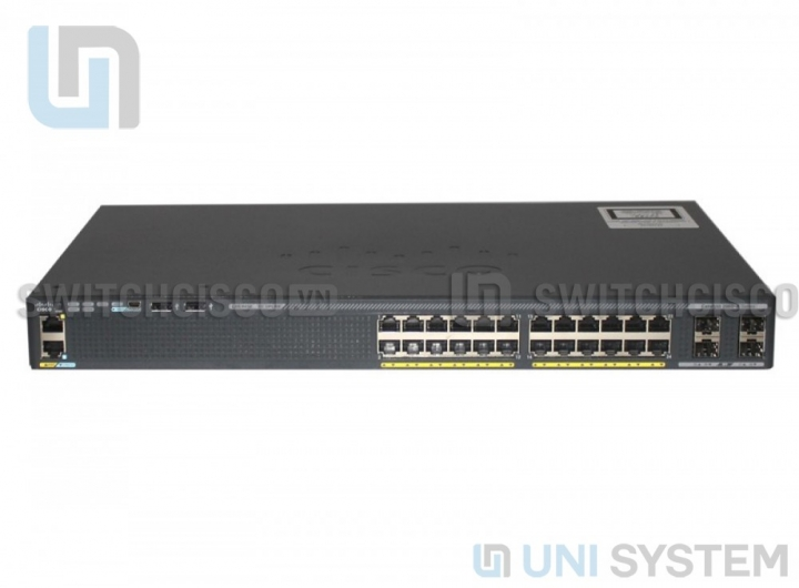 Switch Cisco WS-C2960X-24TS-L Catalyst 2960-X 24 GigE, 4 x 1G SFP, LAN Base