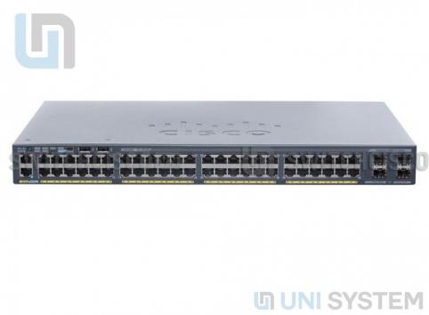 Switch Cisco WS-C2960X-48TS-L Catalyst 2960-X 48 port GigE + 4 ports SFP 1Gb, LAN Base