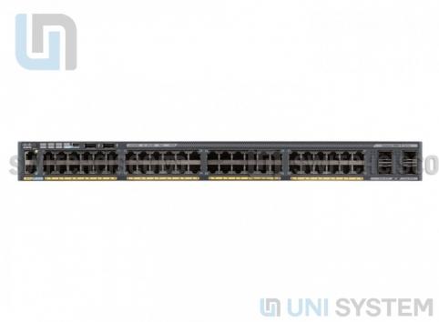 WS-C2960X-48FPD-L, Cisco WS-C2960X-48FPD-L , switch cisco WS-C2960X-48FPD-L , switch 48 port poe, switch 2 port sfp+ 10Gb