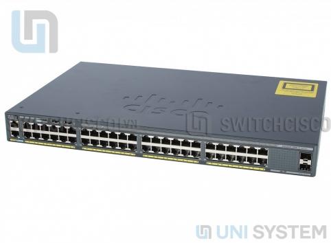 WS-C2960X-48LPD-L, cisco WS-C2960X-48LPD-L, switch Cisco WS-C2960X-48LPD-L, switch 2 port sfp+ 10g