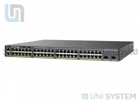 WS-C2960XR-48TD-I Catalyst 2960-XR Series 48 GigE, 2 x 10G SFP+, IP Lite