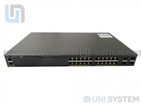WS-C2960XR-24TS-I Cisco Catalyst 2960-XR 24 GigE, 4 x 1G SFP, IP Lite