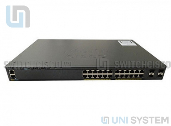 WS-C2960XR-24TS-I Cisco Catalyst 2960-XR 24 GigE, 4 x 1G SFP, IP Lite
