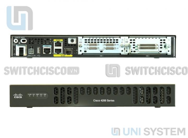 Router Cisco ISR4221-SEC/K9
