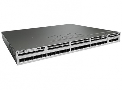 WS-C3850-24S-S Catalyst 3850 Switch Layer 3 24 SFP IP Base managed stackable