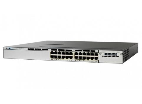 WS-C3850-48PW-S Cisco Catalyst 3850 48 Port Full PoE w/ 5 AP license IP Base